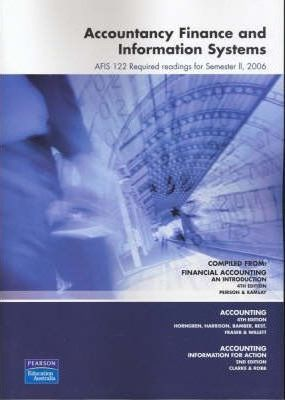 Accountancy Finance and Information Systems