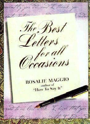 Best Letters For All Occasions Rosalie Maggio 9780735200814