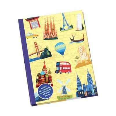 All Around the World Deluxe Journal
