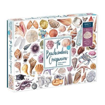 The Beachcomber's Companion 1000 Piece Puzzle With Shaped Pieces