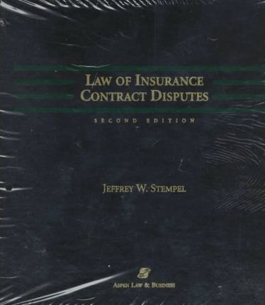 Law Insurance Contract Disp LL