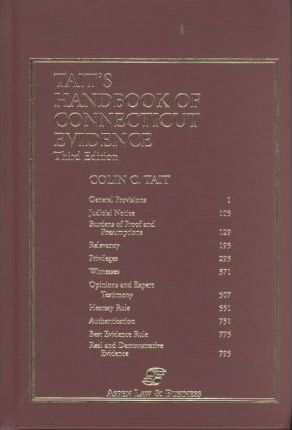 Tait's Handbook of Connecticut Evidence