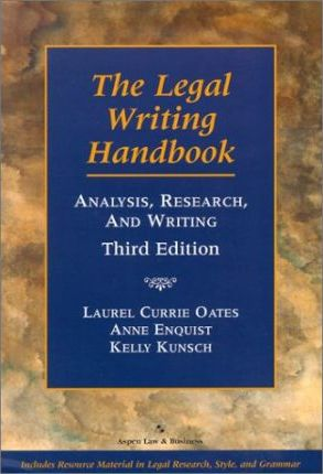 The Legal Writing Handbook