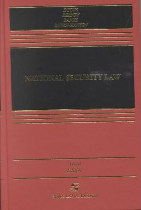 National Security Law, Third Edition