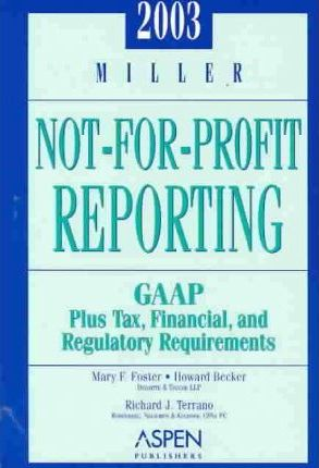 Miller Not-for-Profit Reporting 2003