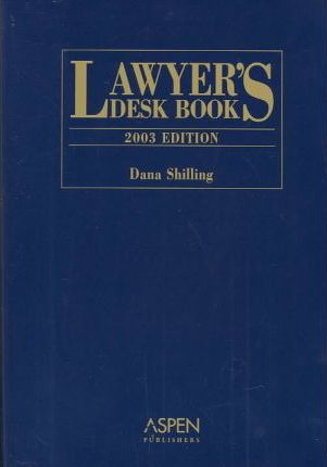 Lawyer's Desk Book 2003 Edition HB