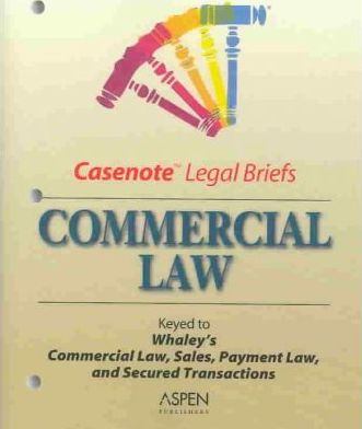 Commercial Law:Whaley 3e Pb