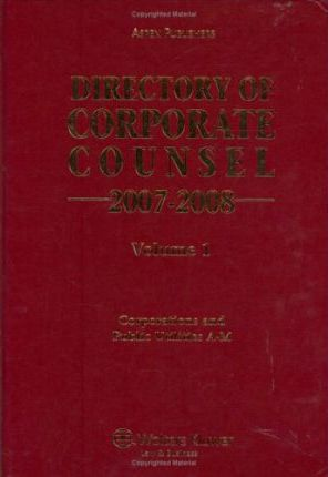 Directory of Corporate Counsel 2007-2008