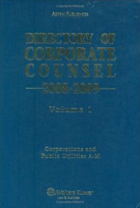Directory of Corporate Counsel 2008-2009