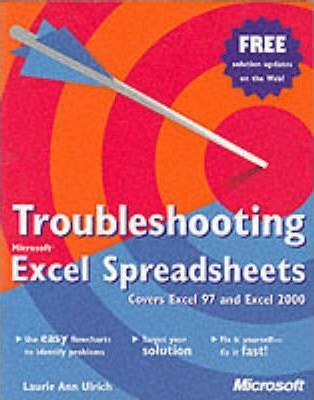 Troubleshooting Excel Spreadsheets