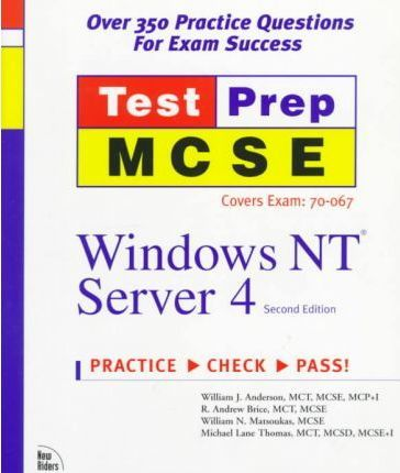 MCSE TestPrep: Windows NT Server 4