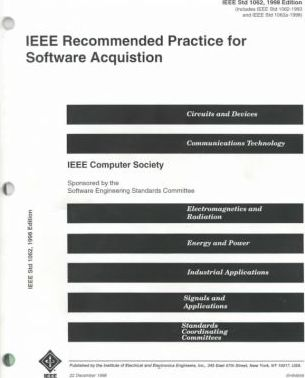 IEEE Recommended Practice for Software Acquisition