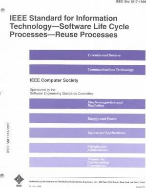 1517-99 Software Life Cycle Processes-Reuse Pro