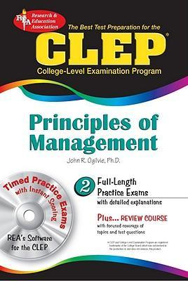 CLEP Principles of Management : Dr John R Ogilvie