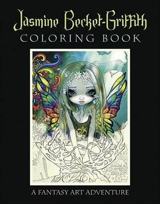 Jasmine Becket-Griffith Coloring Book Cover Image
