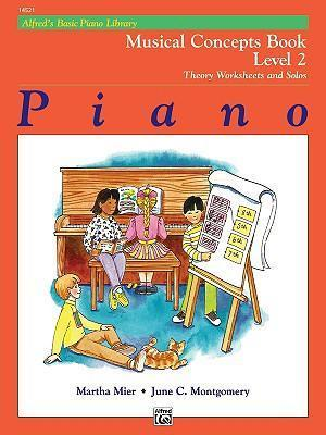Alfred's Basic Piano Library Musical Concepts, Bk 2