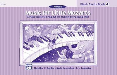 Music for Little Mozarts Flash Cards : A Piano Course to Bring Out the Music in Every Young Child (Level 4), Flash Cards