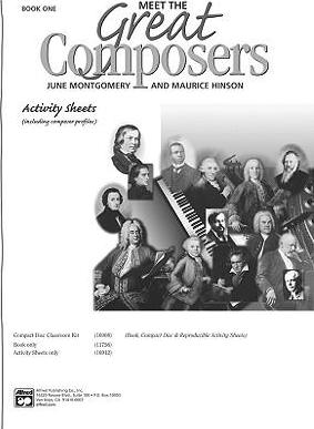 Meet the Great Composers, Bk 1