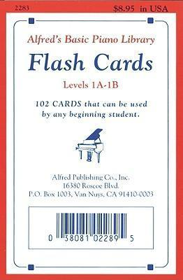 Alfred's Basic Piano Library Flash Cards, Bk 1a & 1b : Willard A