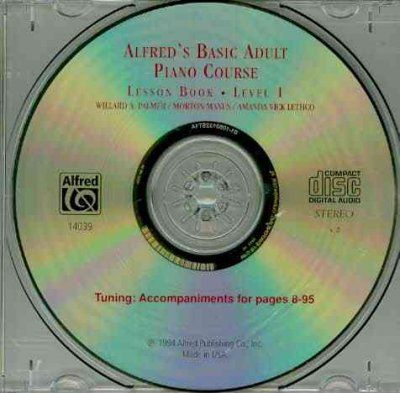 Alfred's Basic Adult Piano Course : Lesson Book: Level 1