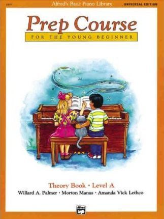 Alfred's Basic Piano Prep Course Theory Book, Bk a