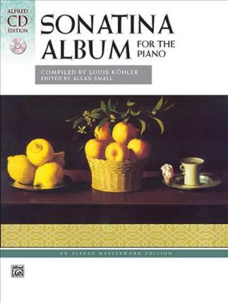 Sonatina Album  Comb Bound Book & 2 CDs
