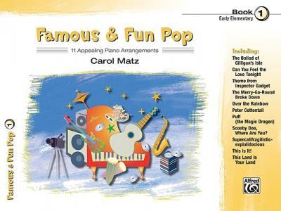 Famous & Fun Pop, Bk 1