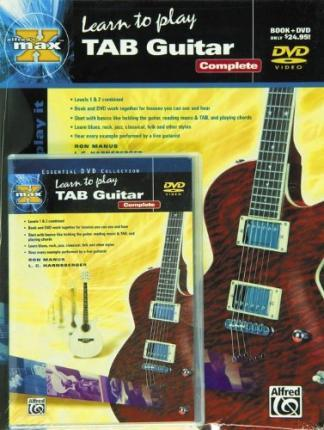 Alfred's Max Learn to Play Tab Guitar: Complete