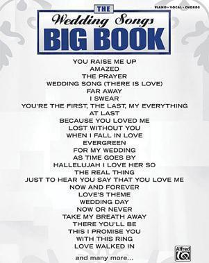 The Wedding Songs Big Book