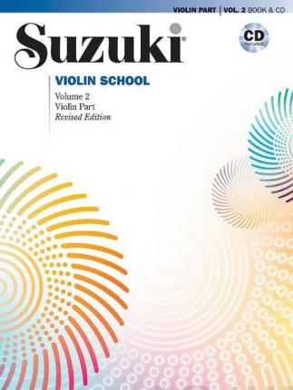 Suzuki Violin School, Vol 2 : Violin Part, Book & CD