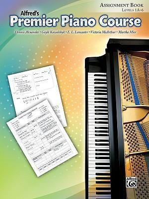 Alfred's Premier Piano Course Assignment Book