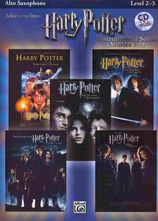 Harry Potter Instrumental Solos (Movies 1-5): Alto Saxophone