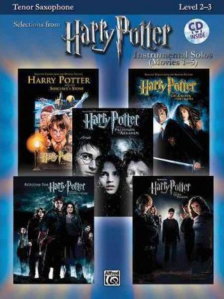 Harry Potter Instrumental Solos (Movies 1-5): Tenor Saxophone