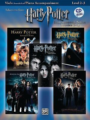 Harry Potter Instrumental Solos (Movies 1-5): Viola (Removable Part)/Piano Accompaniment