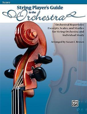String Player's Guide to the Orchestra, Score