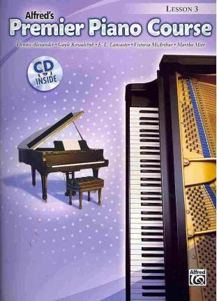 Premier Piano Course Lesson Book, Bk 3