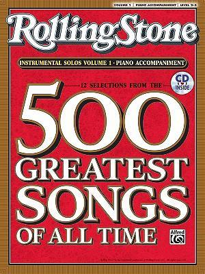 Rolling Stone Instrumental Solos, Volume 1: Piano Accompaniment, Level 2-3