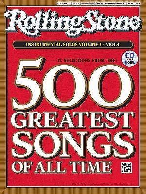 Selections from Rolling Stone Magazine's 500 Greatest Songs of All Time (Instrumental Solos for Strings), Vol 1