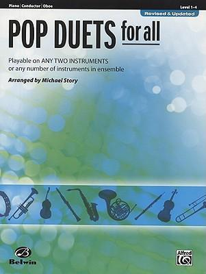 Pop Duets for All: Piano/Conductor/Oboe, Level 1-4