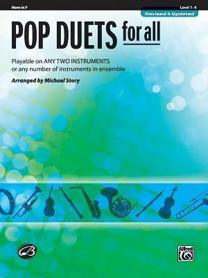 Pop Duets for All: Horn in F, Level 1-4