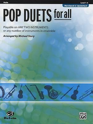 Pop Duets for All: Violin, Level 1-4