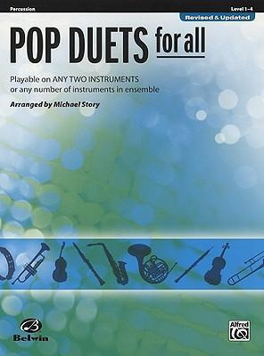 Pop Duets for All: Percussion, Level 1-4
