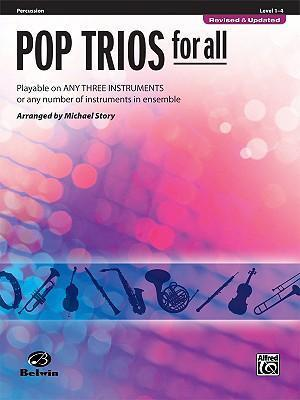 Pop Trios for All: Percussion, Level 1-4