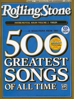 Selections from Rolling Stone Magazine's 500 Greatest Songs of All Time (Instrumental Solos for Strings), Vol 2