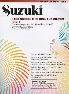 Suzuki Bass School MIDI Disk and CD-ROM, Volume 1