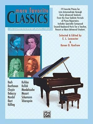More Favorite Classics, Accompaniment Book Two
