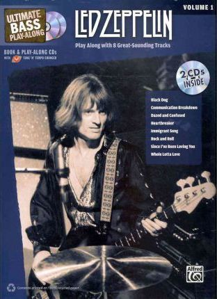 Ultimate Bass Play-Along Led Zeppelin, Vol 1  Play Along with 8 Great-Sounding Tracks (Authentic Bass Tab), Book & 2 CDs