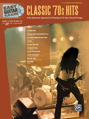 Easy Guitar Play-Along Classic '70s Hits