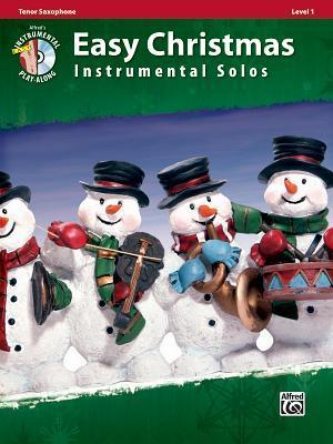 Easy Christmas Instrumental Solos, Tenor Saxophone, Level 1