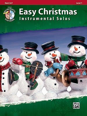 Easy Christmas Instrumental Solos, Horn in F, Level 1